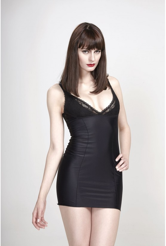 Shaper dress TANIA black Cadolle