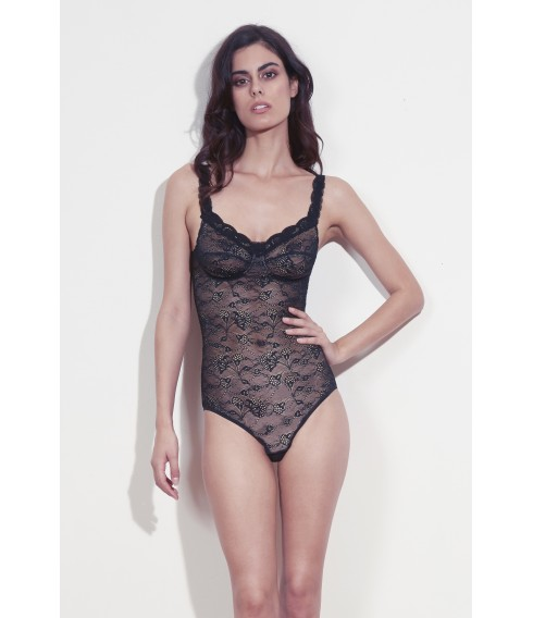 BLACK LACE BODY LOLA