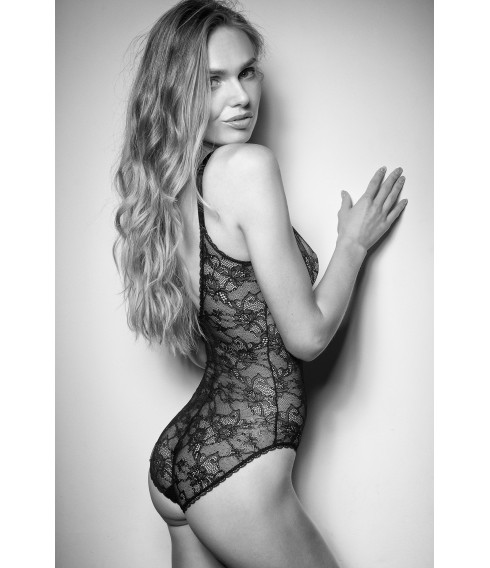 Body DOUX black lace Cadolle
