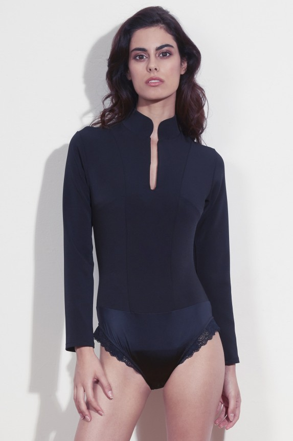 ELIA BLACK SHAPER BODYSUIT