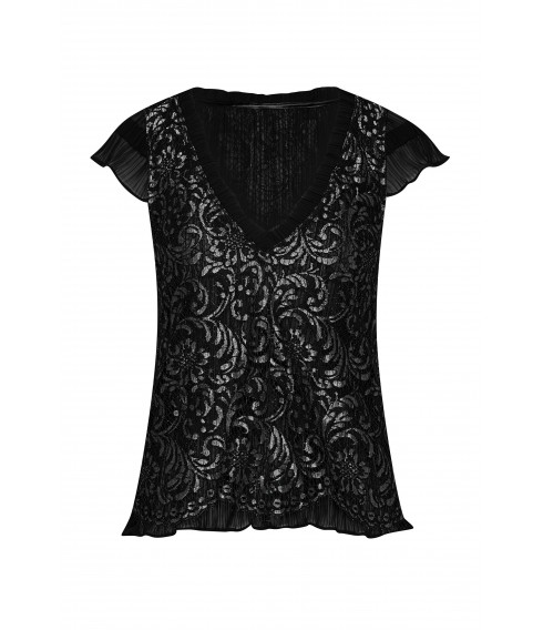 ROMY silver lace top - Cadolle