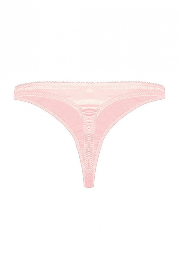 String CATHY pink satin Cadolle