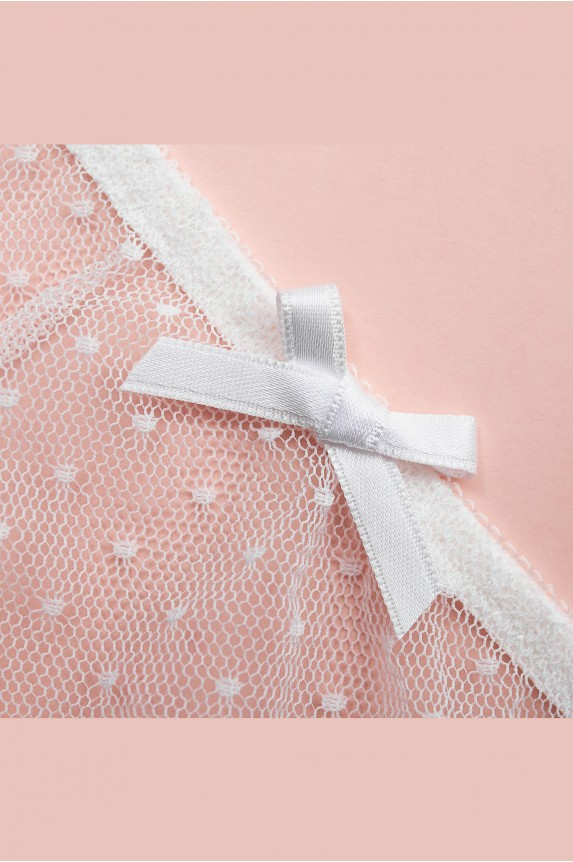 String CATHY white polka dots Cadolle