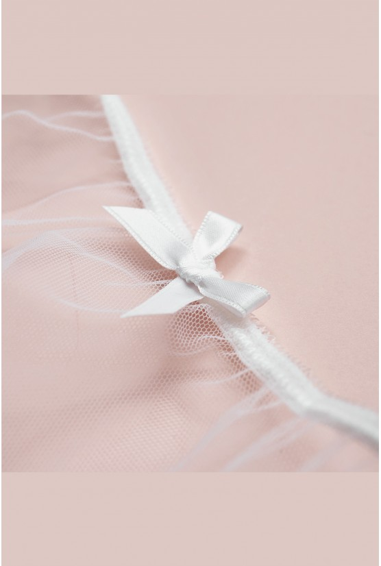 String CATHY white tulle Cadolle