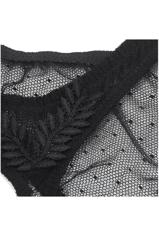 String CATHY black cotton Cadolle