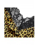Teddy animal print silk