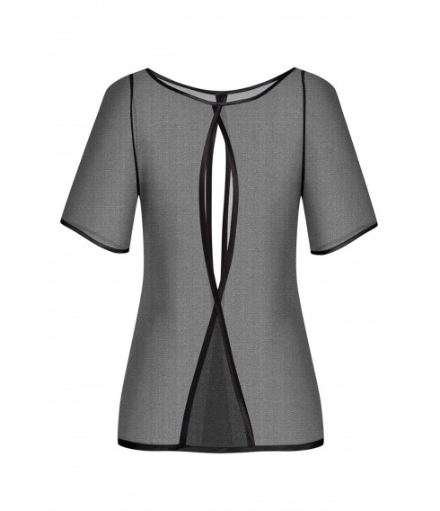 Blouse LALA black tulle Cadolle