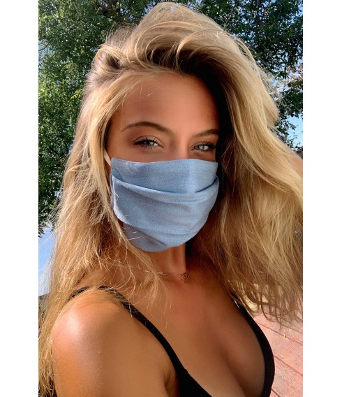 Blue jean facemask - Cadolle