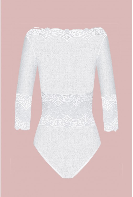 White tulle body Byzance