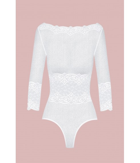 Body BYZANCE white tulle Cadolle