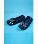 Chaussons noeuds bleus - Cadolle