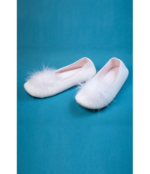 Chaussons plume rose - Cadolle