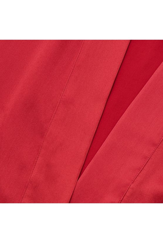 Red silk robe - Cadolle