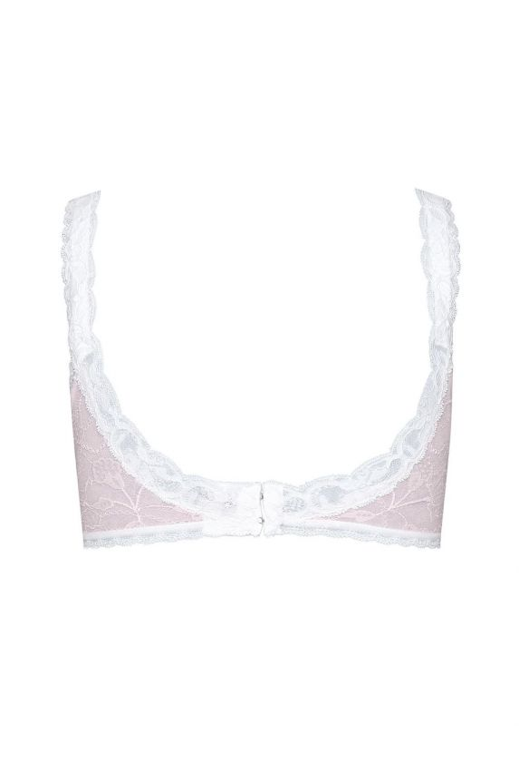 LOLA pink lace bra - Cadolle