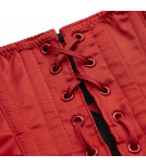Waspie RAJA red satin Cadolle