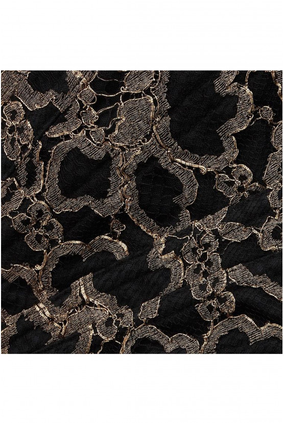 CLEVES golden lace corset - Cadolle