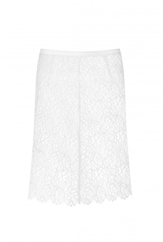 Ivory lace skirt - Cadolle