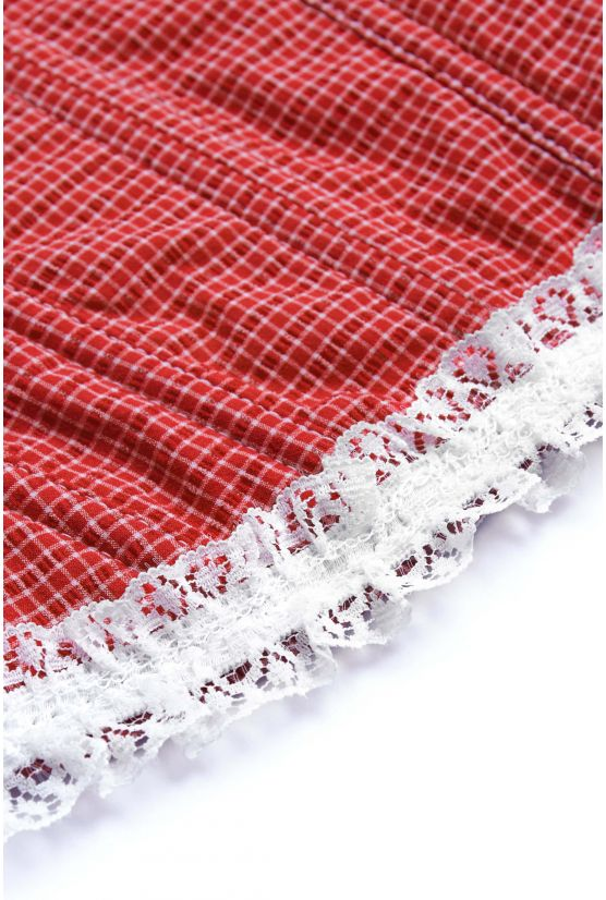 Bustier VICTORIA red gingham