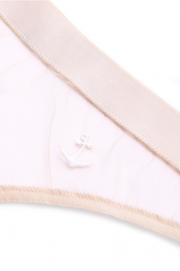 CATHY skin anchor thong - Cadolle
