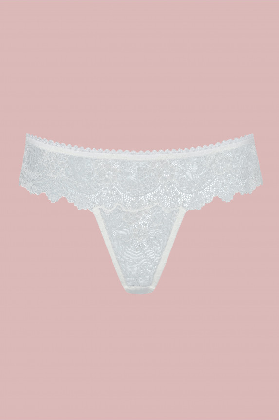 String ANIA dentelle ivoire - Cadolle