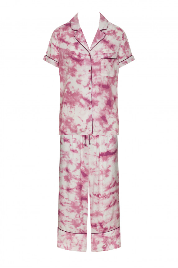 Pink tie and dye pyjamas - Cadolle