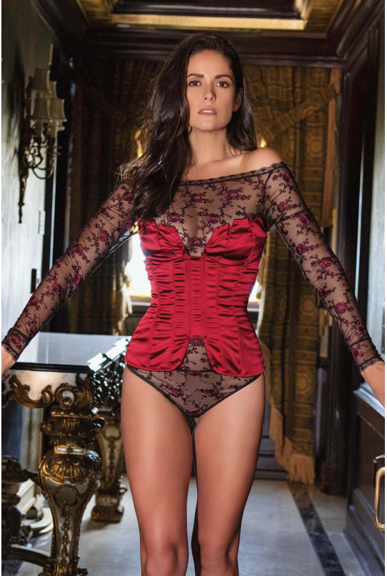Body ALLOVER Spain rouge