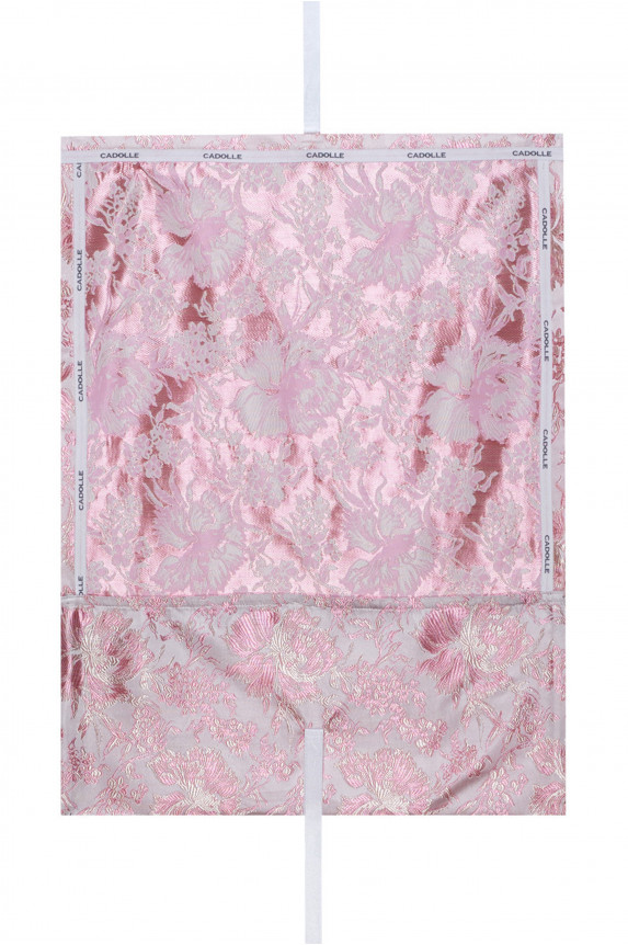Large pink satin pouch - Cadolle